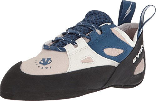 Evolv Skyhawk Climbing Shoe - Women's White/Blue 9