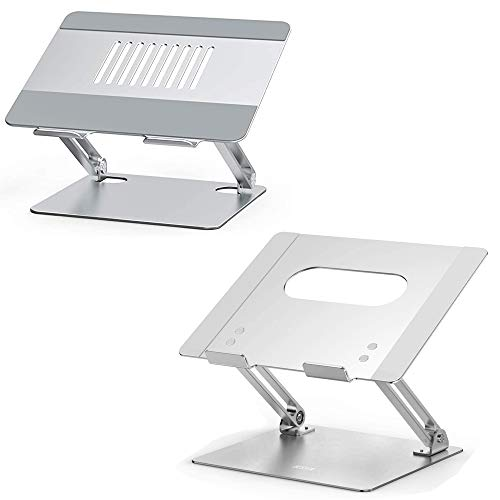 Besign LSX2 and LS10 Aluminum Laptop Stand, Ergonomic Computer Stand, Riser Holder Notebook Stand