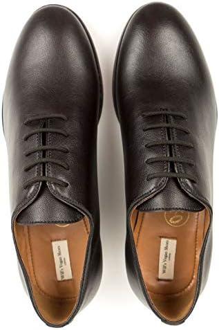 Will's Vegan Shoes Mens City Oxfords Dark Brown
