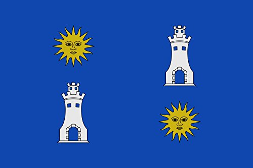 magFlags Bandera Large Vall d Uixó Castellón | Bandera Paisaje | 1.35m² | 90x150cm
