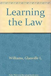 Learning the Law  By Glanville Williams