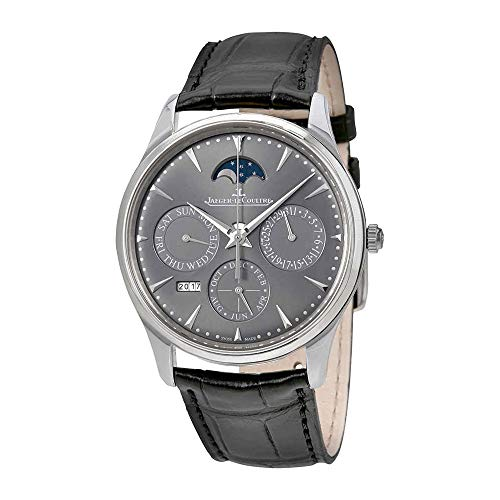 Jaeger LeCoultre Master Ultra Thin Perpetual Automatic 18kt White Gold Men's Watch Q130354J