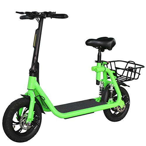 Patinete Electrico con Sillín E-scooter para Adultos 350W 20 km/h 2 Ruedas...