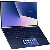ASUS Zenbook UX434FLC-A5179T / 14' FHD/Intel i7-10510U / 16GB RAM / 512GB SSD/GeForce MX250 / Windows 10 / Blu, tastiera tedesca QWERTZ