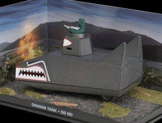 Ex Mag Dragon Tank Réservoir de James Bond Dr.No