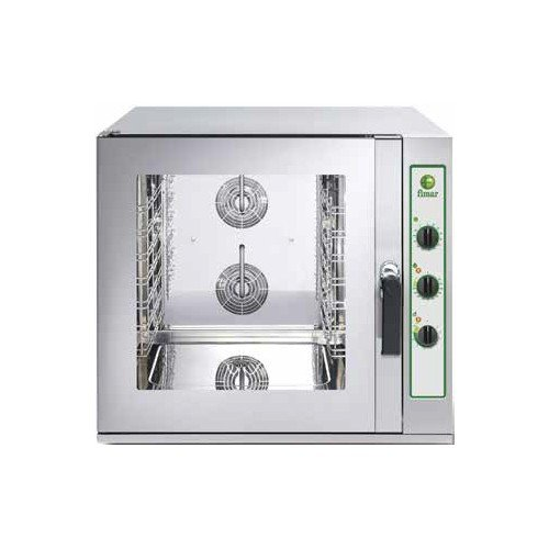 Backofen elektrische Konvektion Gastronomie 6 Tabletts GN 1/1 RS 8587