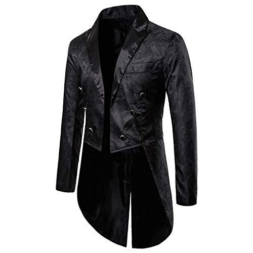 KPILP Sakkos Men\'s Anzugjacken Tuxedo Fashion for Party Handsome Oberteile Charm Casual One Button Fit Suit Blazer Coat Jacket Autumn Winter