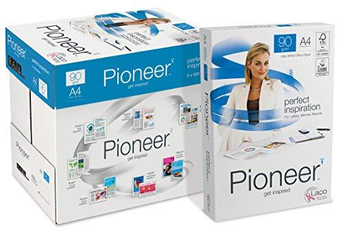 PIONEER - Papel premium para impresora 2500 folios 90 g/m2