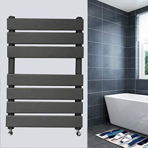 650x500mm Hoge Kwaliteit Stalen Bouw Anti Roest Wandmontage Verwarming Radiator voor Badkamer Keuken Geschikt voor UK Verwarming Systeem Antraciet