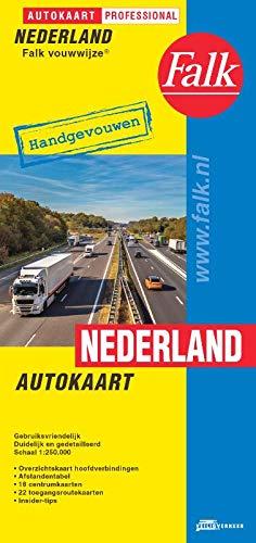 Falk autokaart Nederland professional