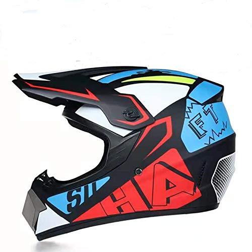 Product Image 5: Senhill Motocross Helmet Offroad Helmet DOT/FMVSS 218 Approved Dirt Bike ATV Motorcycle Helmet with Gloves Goggles Mask