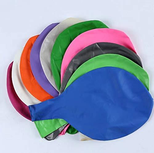 8 Piezas Globos Grandes 80 cm de látex Globos de Colores para Fiesta cumpleaños Bodas Bautizo graduación Navidad Carnaval Celebraciones (8 Colores)