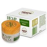 Crema de Cañamo de Alta Efectividad | Crema de CBD (400 mg de Cannabidiol) para Alivio de Dolores Musculares y Articulares - 50 ml | Hemps Pharma - CBD Balm Strength