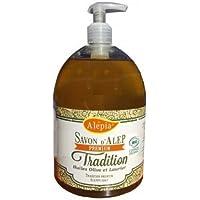 Alepia - Jabón de Alepo líquido Premium tradición 1% Bio laurel