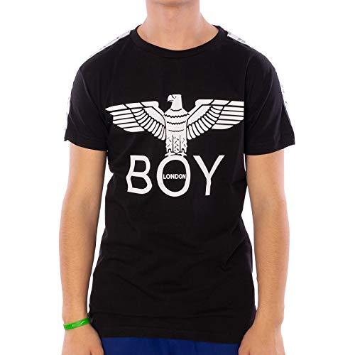 Boy London Jersey 24/1 - Maglietta da uomo Nero M