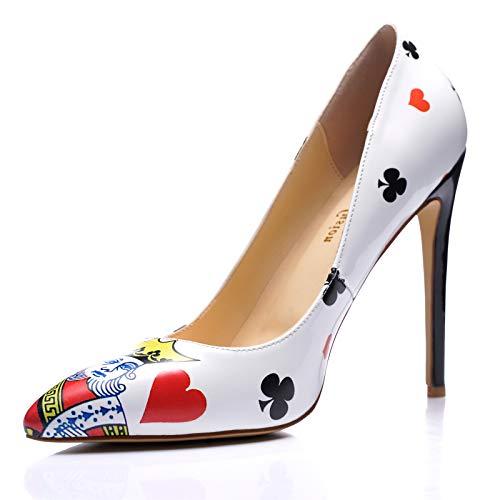 Playing Card High Heels
