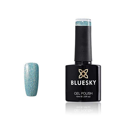 Bluesky BLUESKY Gel Polish, Prince Charming, CH05, 10ml, Gel auflösbarer Nagellack, Blau, Blass, Pastel, Nudefarben (Aushärtung unter UV-/LED Lampe erforderlich) er Pack(x)