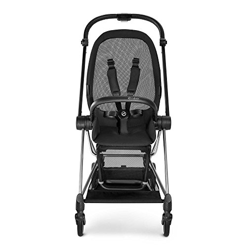 CYBEX MIOS Stroller Frame and Seat in Black/Chrome