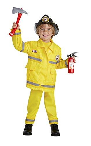Little Tikes Brave Fire Captain Costume, 1-2T