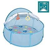 Babymoov A035215 Babymoov Babyni Strandzelt & Reisebett, LSF 50+, blau