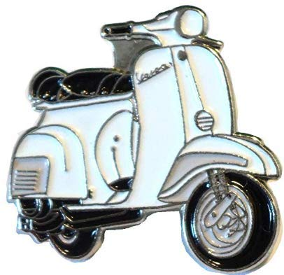 Mainly Metal, Scooter Vespa, Blanc