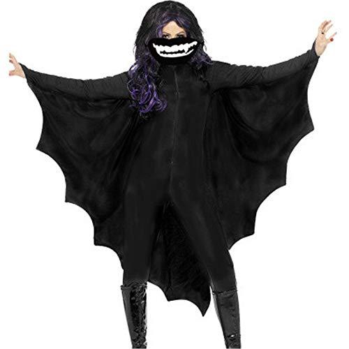 DiscountL Disfraz de calavera de esqueleto fantasma Ropa de fiesta Rendimiento, ropa de cosplay, Otoo-Invierno, vestido, Manga Larga, Mujer, color B, tamao XXL