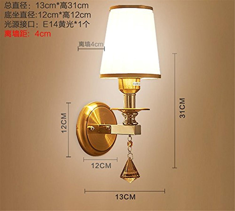 Modernes, minimalistisches led Nachttischlampe Schlafzimmer kreative Wohnzimmer balkon Treppe gang Lampe Leuchte, 13  31 cm