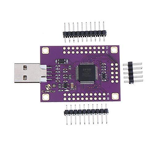 XUQIANG Lidinim FT4232HL USB a RS232 / RS485 / RS422 / UART/JTAG/SPI / I2C Tablero de módulo Serie Traje de módulo