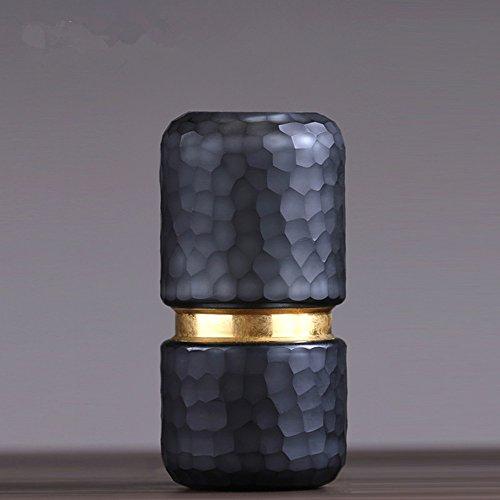 QARYYQ Modern Minimalistische Glas Vaas Woonkamer Eetkamer TV Kast Bloem Shop Model Kamer Creatieve Zachte Decoratie Ambachten
