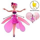 Fliegende Fee Puppe Fliegende Prinzessin Spielzeug Flugzeug Mädchen RC Helikopter Hubschrauber...