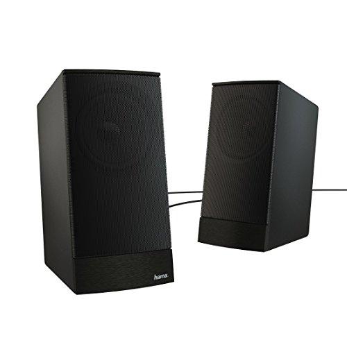 Hama Sonic LS 208 Lautsprecher 20 Kanale 8 W 100 20000 Hz 4 Ohm Schwarz