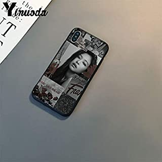 Inspired by Blackpink Lisa Rose Jisoo Jennie Phone Case Compatible With Iphone 7 XR 6s Plus 6 X 8 9 Cases XS Max Clear Iphones Cases TPU- Journal- Case- Clothing- Bag- Bag- 32984742433