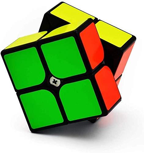 RENFEIYUAN Liso magnético 2x2x2 Juguete Profesional Deportivo MA para Rubik Cubo (Color...