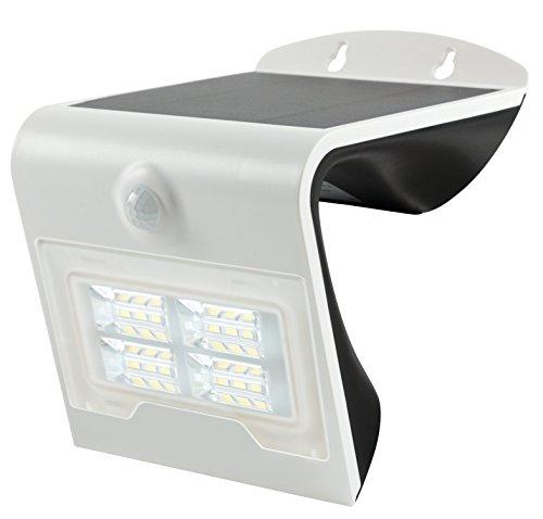 HEITRONIC Solar LED Wandleuchte BRIGHT Wandfluter mit Bewegungsmelder Sensor Solarleuchte