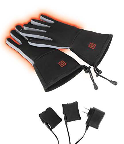 Thermo-Chip Heated Glove Liners (Large - X-Large, Black)