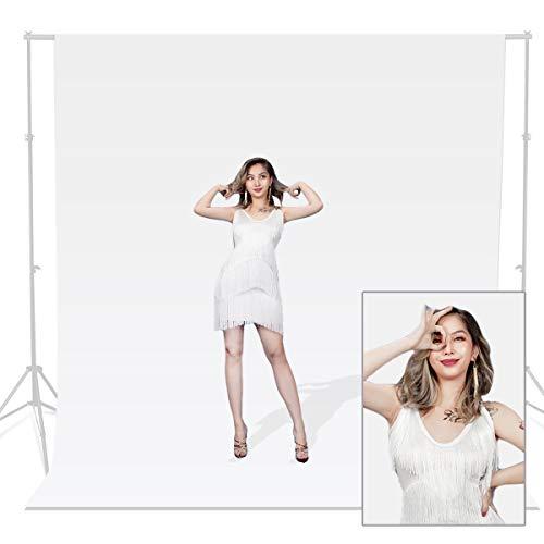 Hwastudio, sfondo in mussola 100% cotone per studio fotografico, video, fotografia