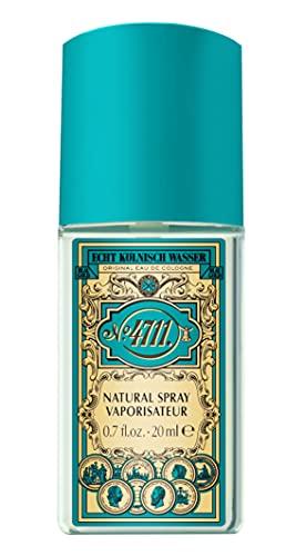 4711 4711® echt kölnisch wasser   eau de cologne 20ml duftklassiker - charakteristischer duft der pure erfrischung schenkt - unisex - wohltuend für körper geist und seele   natural spray