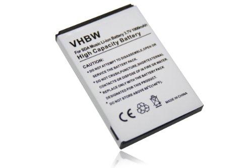vhbw Akku passend für T-Mobile MDA Basic Handy Smartphone Telefon (1000mAh, 3,7V, Li-Ion)