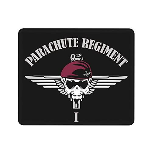 Parachute Regiment 1st Alfombrilla de ratón Antideslizante Alfombrilla de ratón Rectangular de Goma Alfombrilla de ratón para Juegos 30x25 cm Mouse Pad