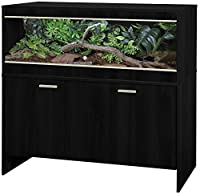 The Maxi Large Repti-home is a high quality affordable vivarium for exotic pets that require a bit more heating. High quality flat-packed furniture Stylish contemporary black finish Size: 115 x 49 x 120.5 cm Vivarium & cabinet included