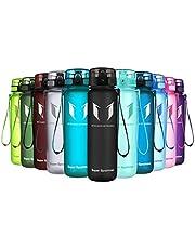 Super Sparrow Trinkflasche - Tritan Wasserflasche - 350ml, 500ml, 750ml, 1000ml - BPA-frei - Ideale Sportflasche - Sport, Wasser, Fahrrad, Fitness, Uni, Outdoor - Leicht, Nachhaltig