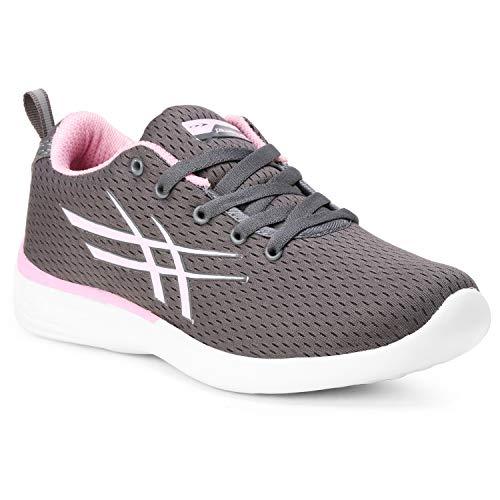 Columbus Women Running Shoes Ruhi 09 Grey
