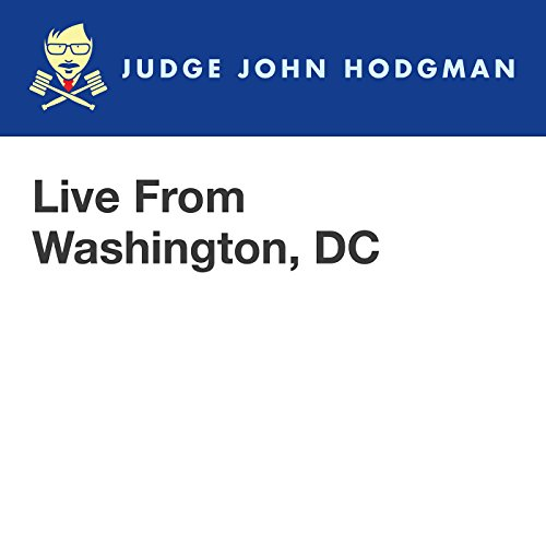 Live From Washington, DC audiobook cover art