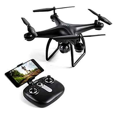 LBLA FPV Drone with 720P HD Wifi Camera Quadcopter Drone with Altitude Hold Headless Mode One Key Return Drone Live Video for Adults Kids Beginners
