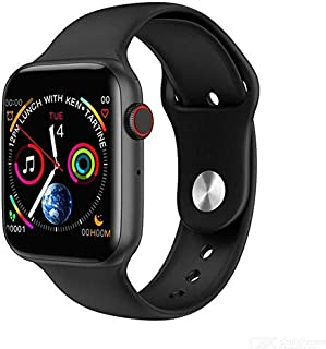 Smart Watch Silicone Band For Android & iOS,Black - w34