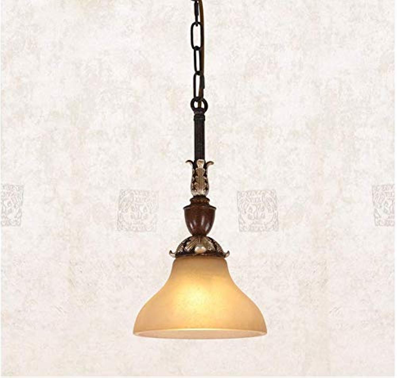 Chandelierchandelier Bar Gang Lampe Restaurant Küche Lampe Eisen Lampe Einfache Kreative Retro Einzigen Kopf Kronleuchter