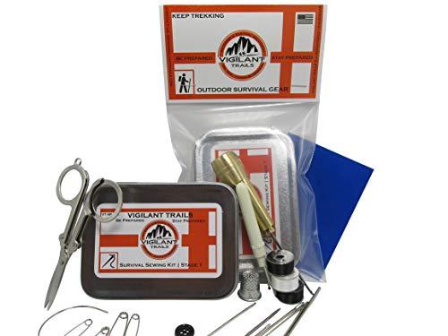 Vigilant Trails® Pocket/Survival Sewing Kit