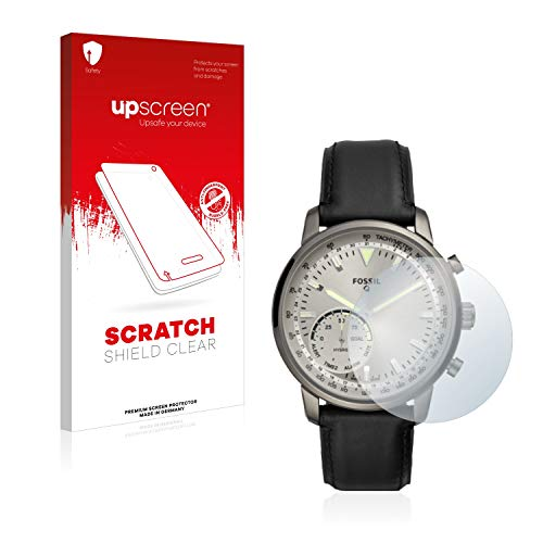 upscreen Schutzfolie kompatibel mit Fossil Q Goodwin – Kristallklar, Kratzschutz, Anti-Fingerprint