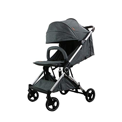 Great Features Of Trolley Large Space Baby Stroller High Landscape can Sit Reclining Ultra Light Por...