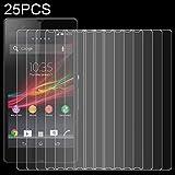 ZCLINXHEFSDSS Protections d'écran 25 PCS for Sony Xperia Z / L36h 0.26mm 9H dureté de Surface 2.5D...